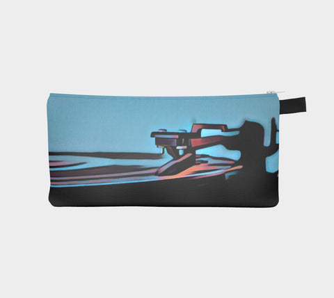 In The Groove Blue Mic Pouch