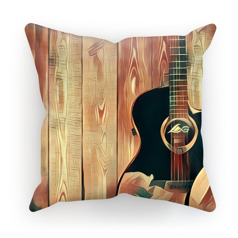 Wood Grain Gold Cushion