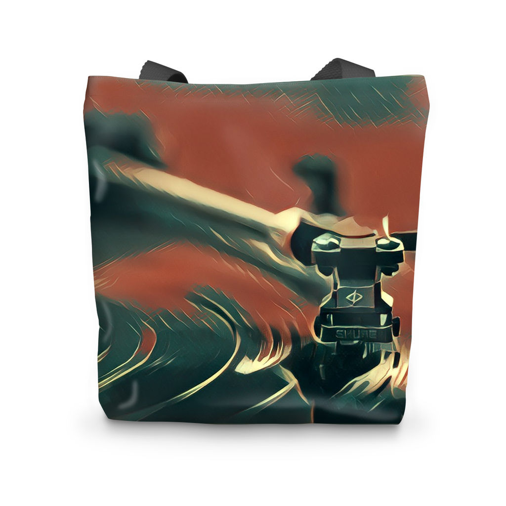 In The Groove Fly Tote Bag