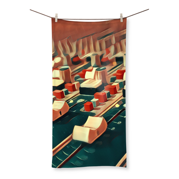 Fader Fly Beach Towel