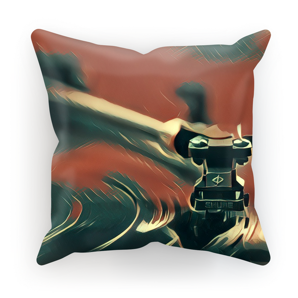 In The Groove Fly Cushion Cover