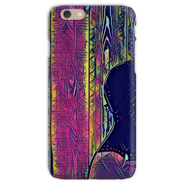 Wood Grain Electric Phone Case