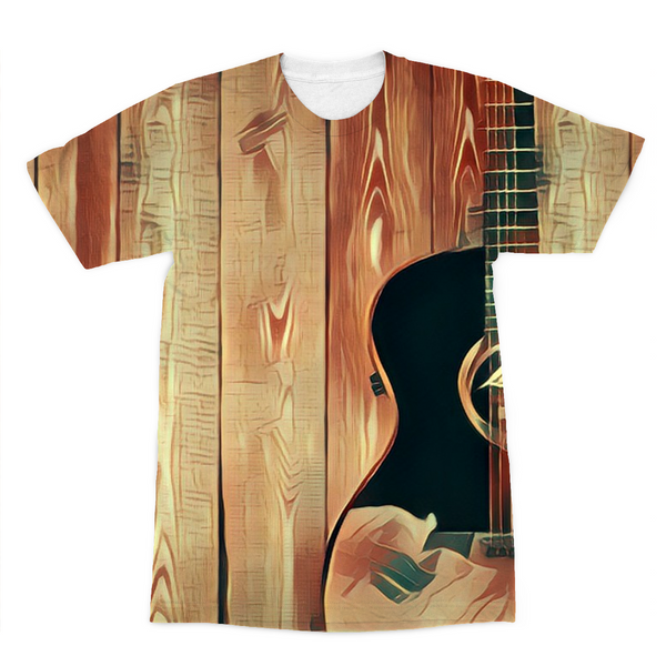 Wood Grain Gold T-Shirt