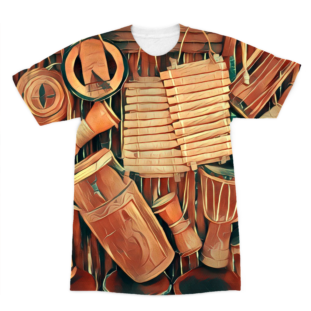 Talking Drums Hanging Fly T-Shirt