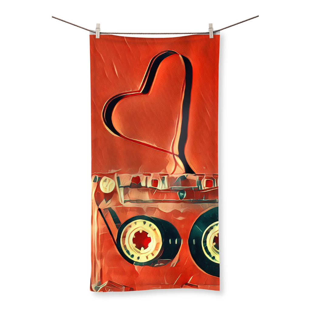 Dub Love Beach Towel