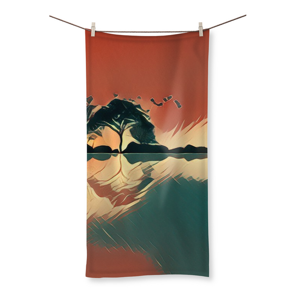Horizon Fly Beach Towel