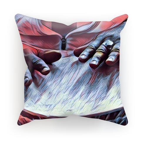 Talking Drums Perspective Cushion Cover