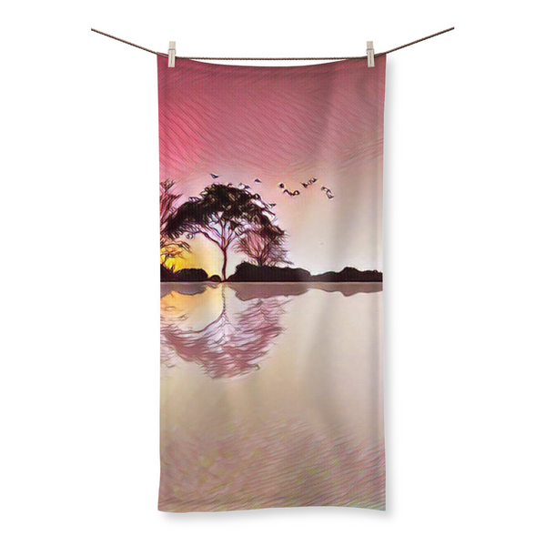 Horizon Dawn Beach Towel