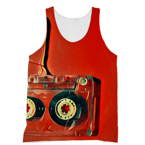 Dub Love Red Tank Top