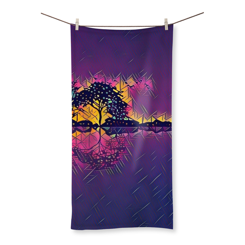 Horizon Electric Beach Towel