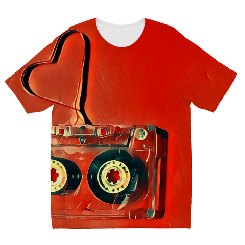 Kids Dub Love Red T-Shirt