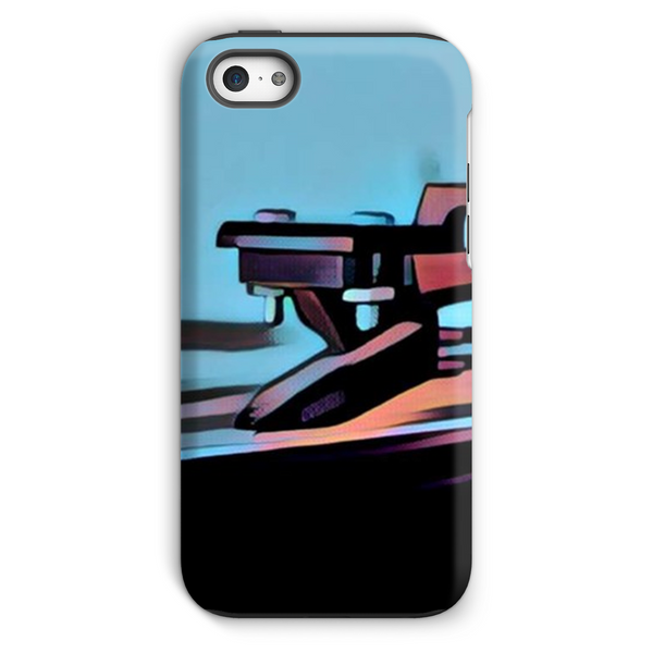 In The Groove Blue Phone Case