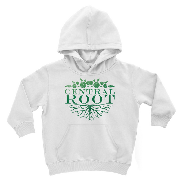 Kids Central Root Green Logo Hoodie