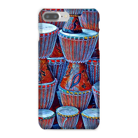 Talking Drums Blue Phone Case