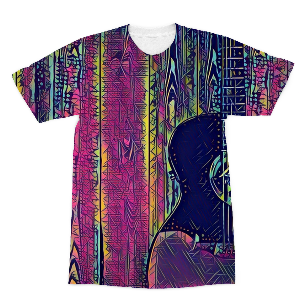 Wood Grain Electric T-Shirt