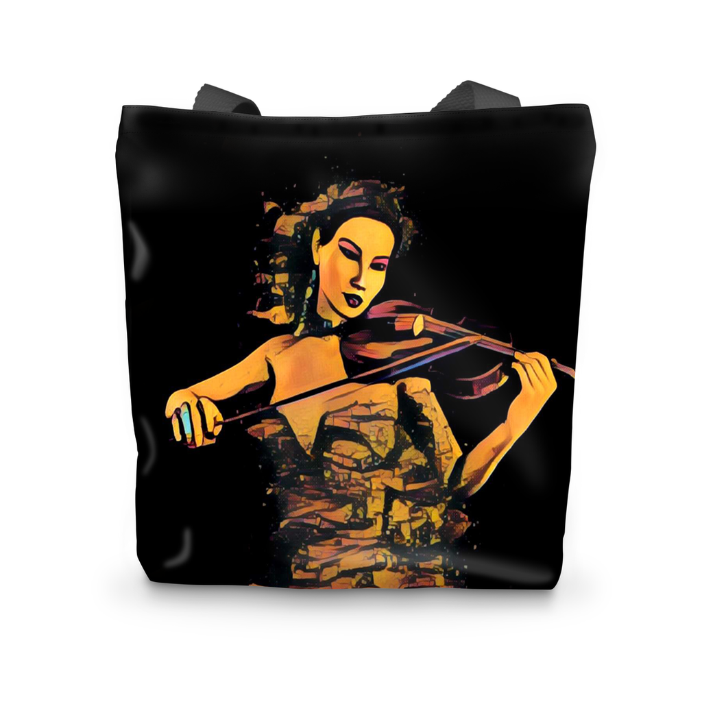 Violin Expression Tote Bag