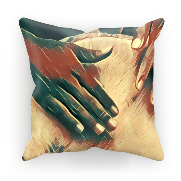 Talking Drums Fly Perspective Cushion Cover