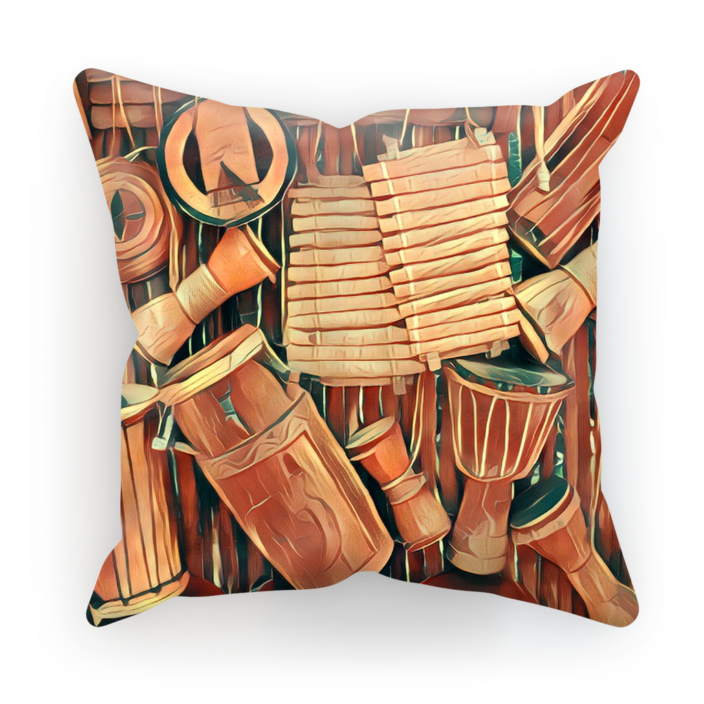 Talking Drums Fly Hanging Cushion Cover