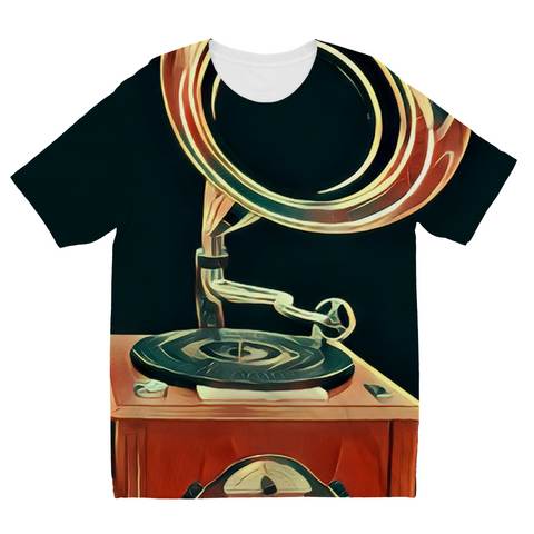 Kids Gramophone Fly T-Shirt
