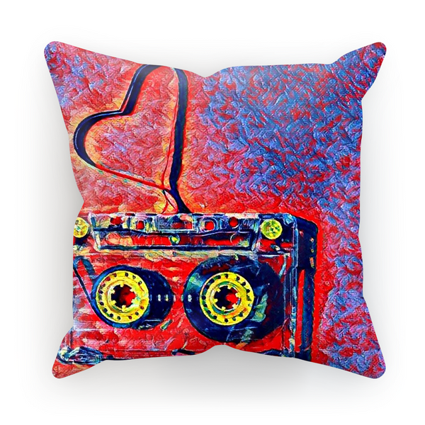 Dub Love Purple Cushion Cover