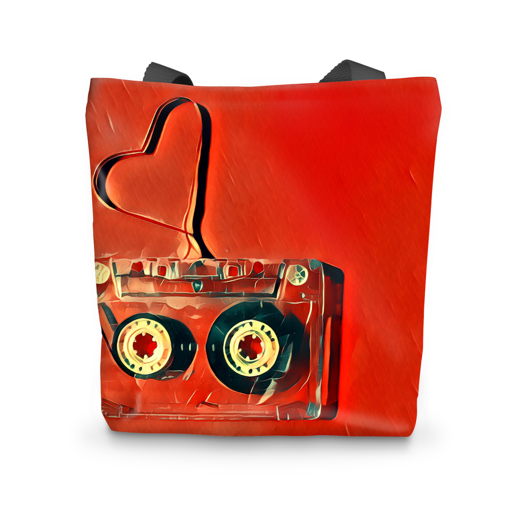 Dub Love Red Tote Bag
