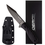 OERLA TAC OLK-034HM Fixed Blade Camping Knife 420HC Steel with G10 Handle EDC Kydex Sheath