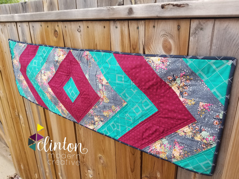 Clinton Modern Exclusive - Ripples Table Runner Pattern