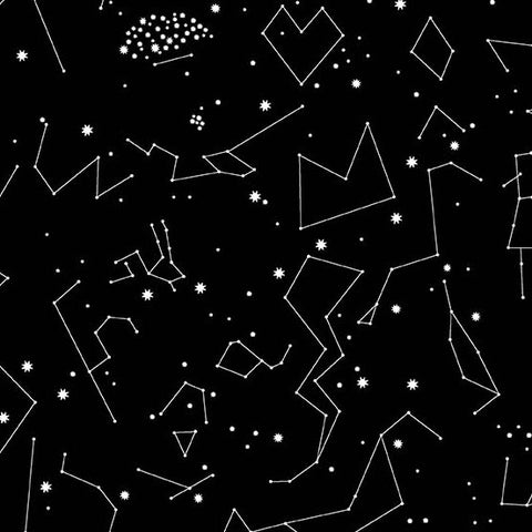 Lizzy House Constellations Black