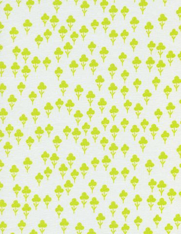 Cotton + Steel Front Yard Clovers Yellow
