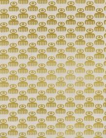 Cotton + Steel Akoma Duafe Golden Metallic