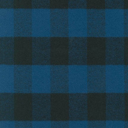 Mammoth Flannel - Buffalo Check Blue