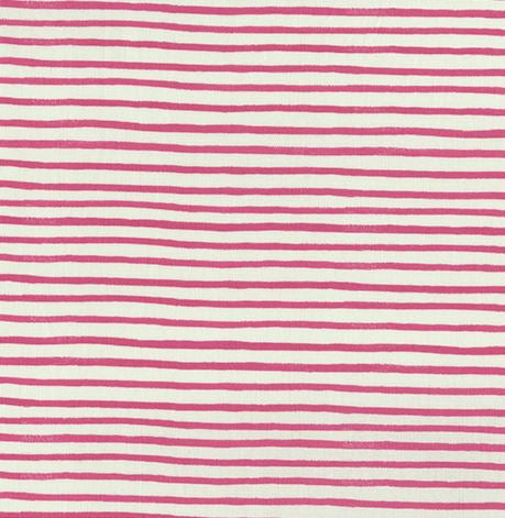 By the yard- Rifle Paper English Garden Pink Stripes