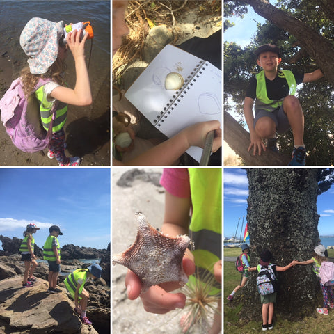 Nature kids school holiday programme