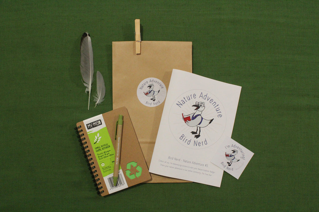 kids activity pack - bird nerd