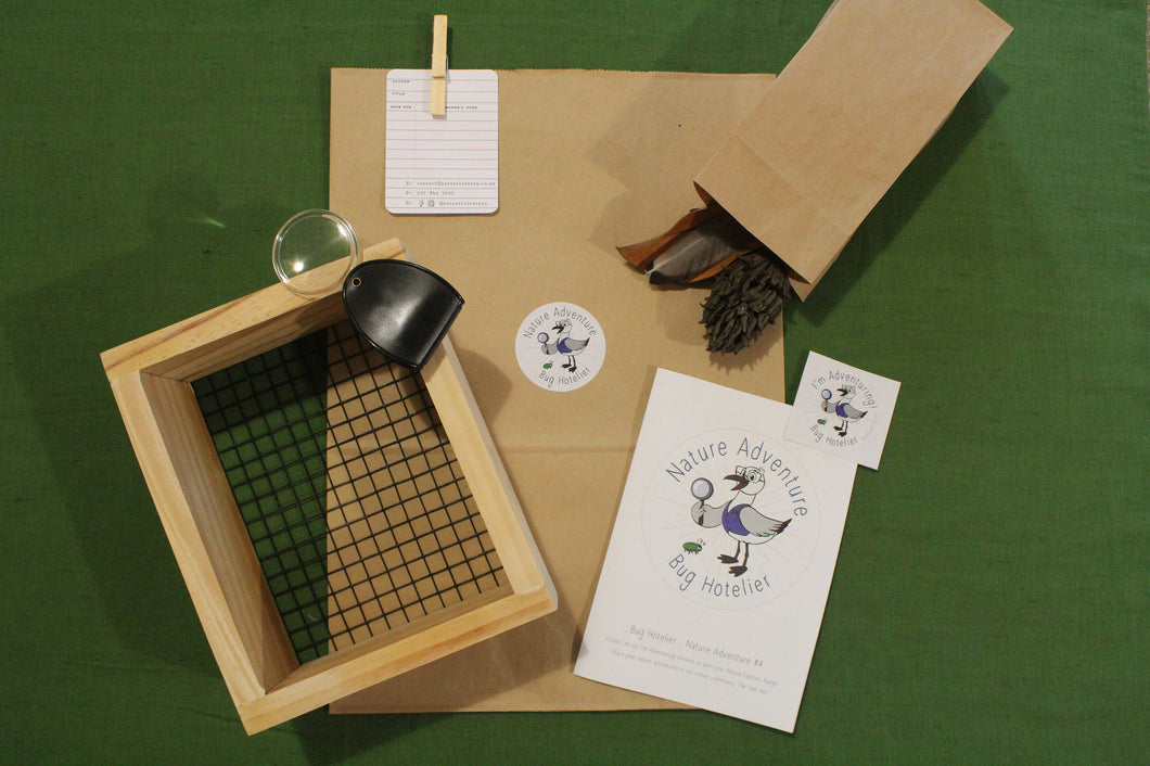 kids activity pack bug hotel