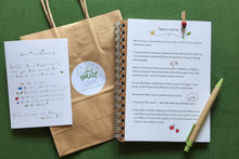 kids activity pack - nature journal