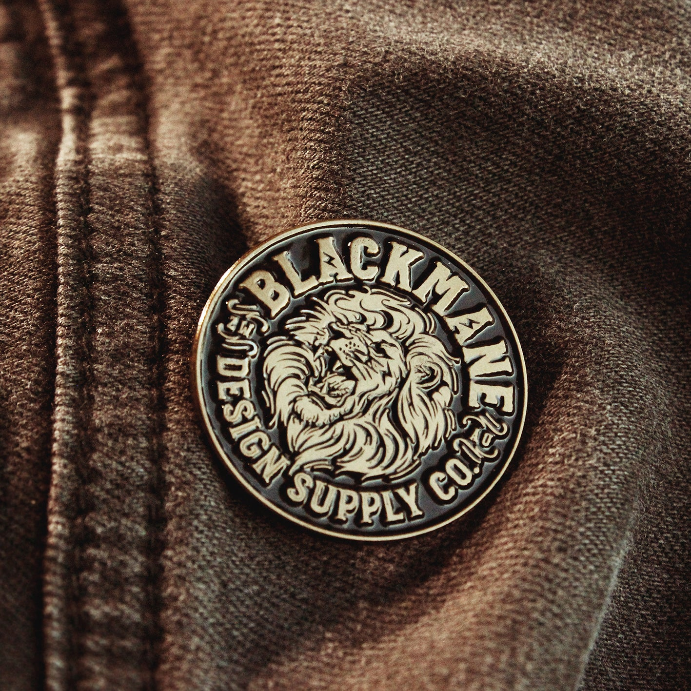 Blackmane Lion † Enamel Pin