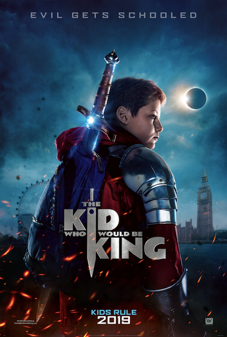 Kid who would be king movie screening