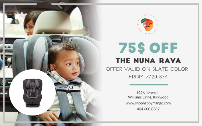 The Nuna Rava is on sale!