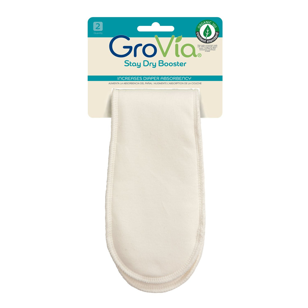 GroVia | Cloth Diapers, Wipes, & Accessories - Stay Dry Booster (2-pack)