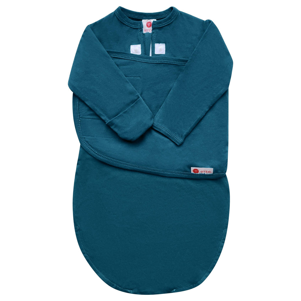 embe - Spruce | Starter Swaddle with Long Sleeves