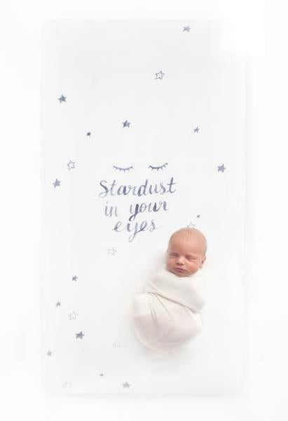 Coveted Things Stardust Crib Sheet