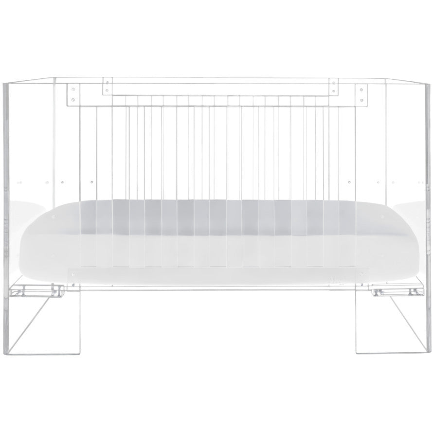 Nursery Works Vetro Crib Clear Acrylic