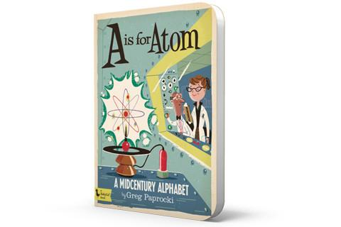 Baby Lit A is for Atom