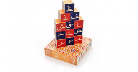 Uncle Goose Wooden Arabic Blocks