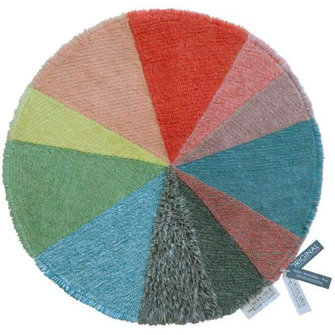 Lorena Canals Pie Chart Woolable Rug