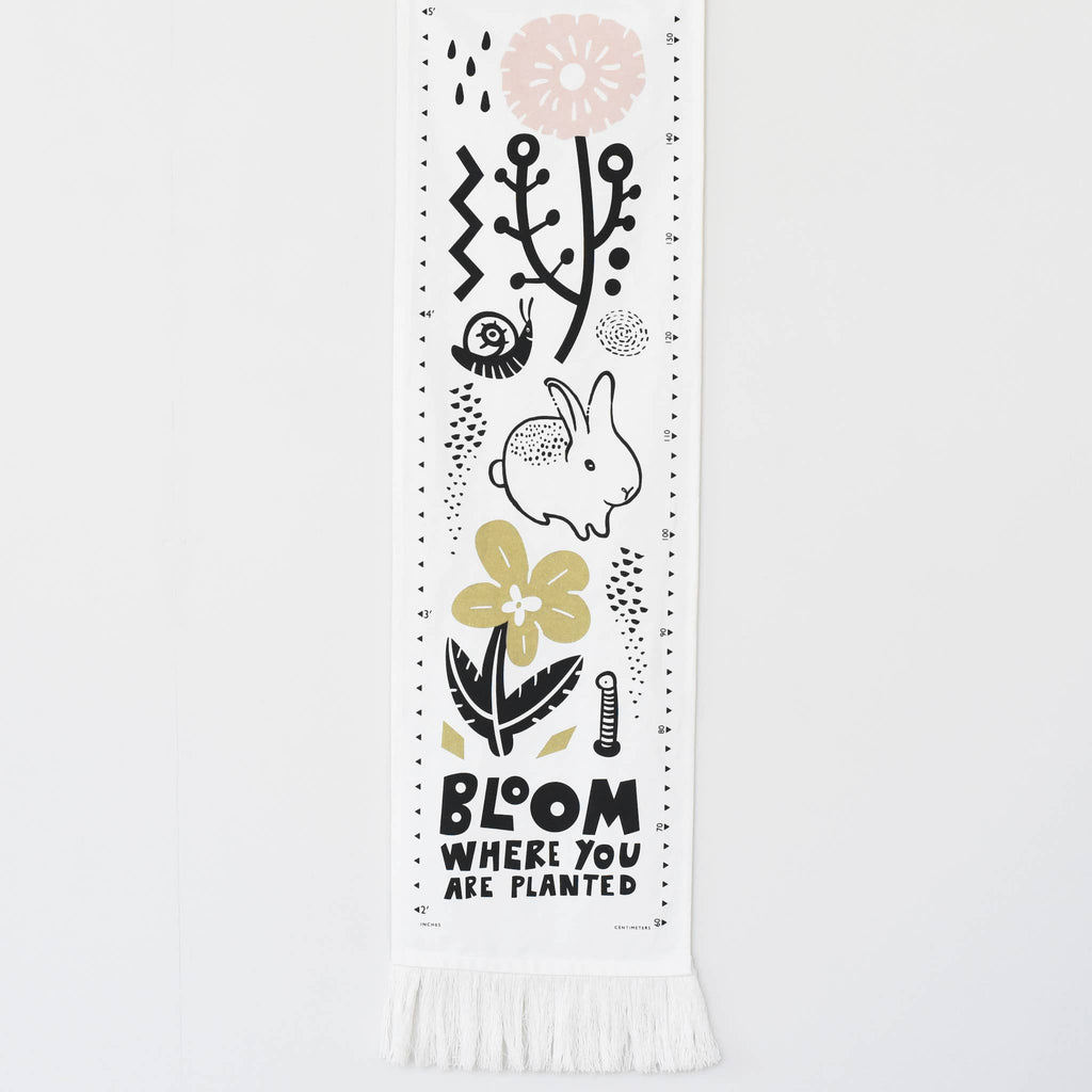 Wee Gallery - Bloom Canvas Growth Chart
