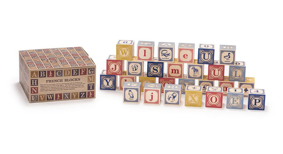 Uncle Goose Wooden French Blocks