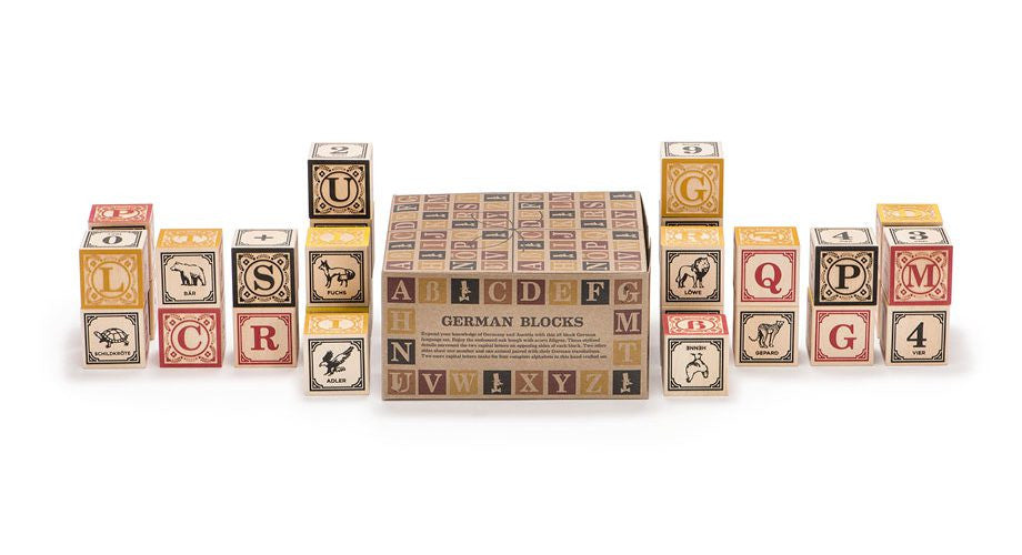 Uncle Goose Wooden German Blocks