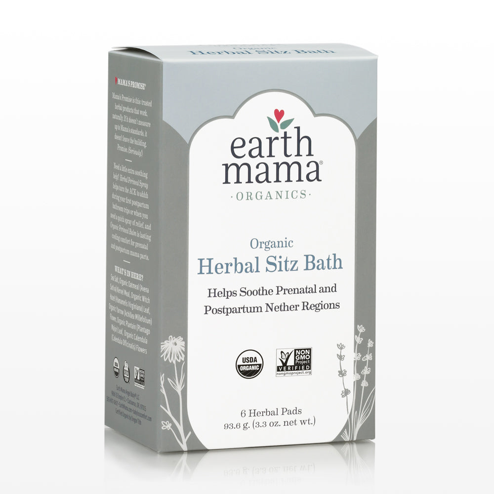 Earth Mama Angel Baby Postpartum Bath Herbs Herbal Sitz Bath